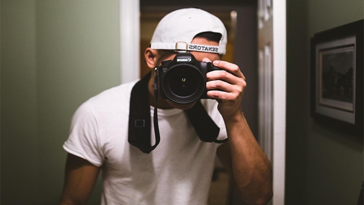 Tip chụp ảnh tự sướng trước gương